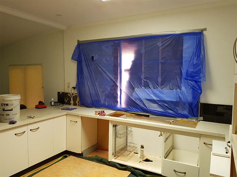 Trinity Gardens Kitchen before